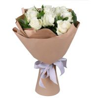 Bouquet 11 white roses