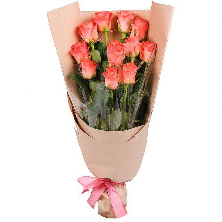Bouquet 11 orange roses