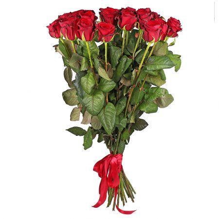 Bouquet 25 roses 90 cm