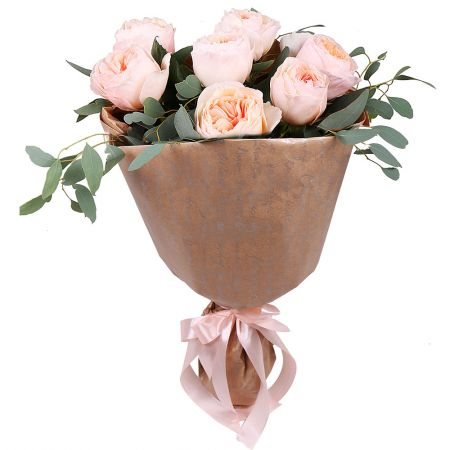 English roses, bouquet of english roses, david austin roses, cream bouquet,, bouquet of roses, cream