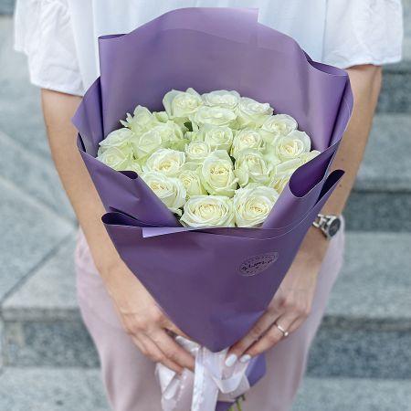 Bouquet Promo! 25 white roses