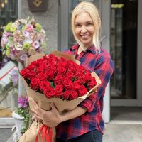 Promo! 51 red roses