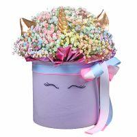 Bouquet Unicorn in a box