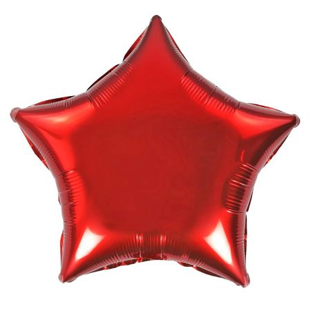 Product Foil star red