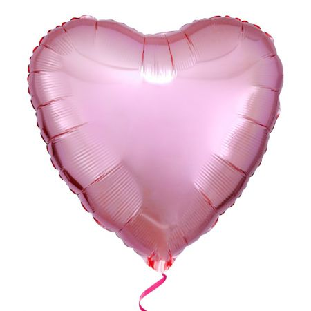 Product Foil pink heart balloon