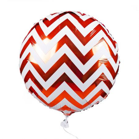 Product Foil balloon circle red