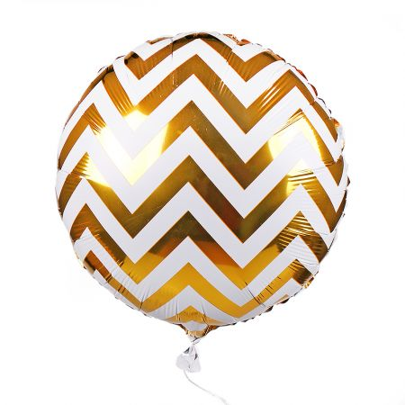 Product Foil balloon circle gold