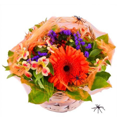 Bouquet Spiderman Nest