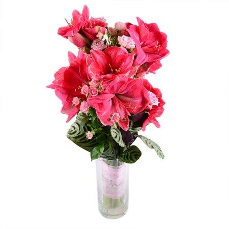 Bouquet With amaryllis