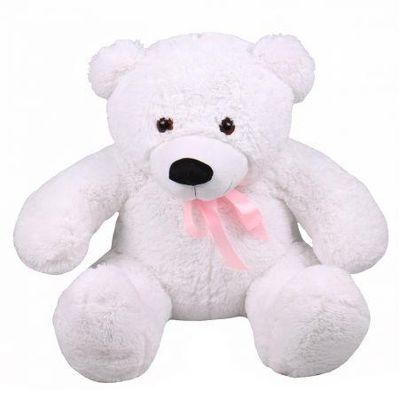Teddy bear white 105 cm | make an order on UFL website
