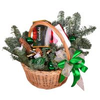 Buy Basket: Gift under Christmas tree with the same day delivery