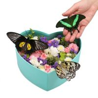 Heart with butterflies | order with delivery