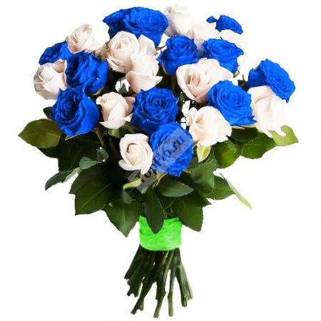 Bouquet Blue rose wedding bouquet