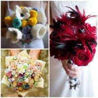 Alternative bridal bouquets ideas