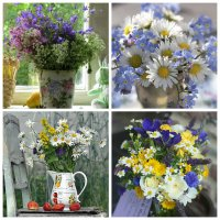 Bouquets of Wild Flowers
