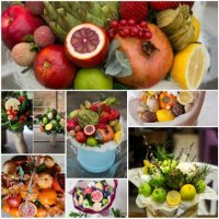 How to make bouquet of vegetables and fruits by own hands?
