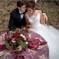 Luxury Wedding in Color of Marsala