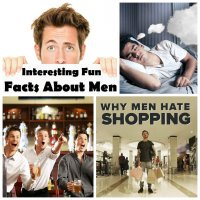 Top-10 of interesting facts about men